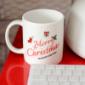 メリークリスマスマグカップ